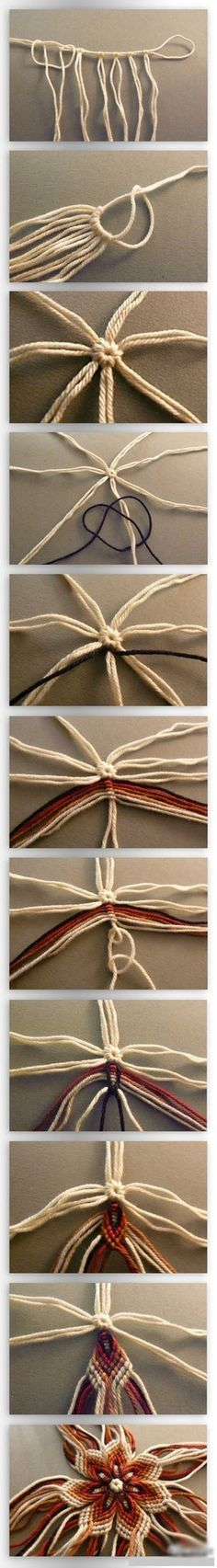 Beautiful Yarn Craft | Click to see More DIY & Crafts Tutorials on Our Site.