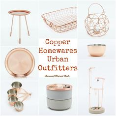 Copper Homewares fro