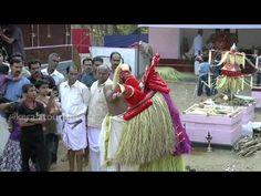 ▶ Vishnumoorthi Theyyam, Kaliyattam, Vellur Sree Kozhunthumpadi Temple, Kannur, Kerala - YouTube