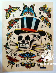Dan Santoro Tattoo Flash   KYSA #ink #tattooflash #tattoo
