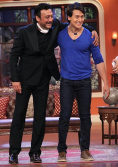 PIX: Jackie, Tiger Shroff on Comedy Nights with Kapil ...