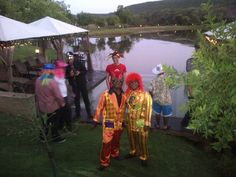 """Point Print Outsource enjoyed a """"fun""""tastic evening playing dress-up! Team Building Venues, Game Lodge, Big 5, Game Reserve, Playing Dress Up, Wedding Venues, Spa, Hats, Events"""
