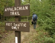 I want to hike the Appalachian Trail (in pieces, I am not that badass). jstav