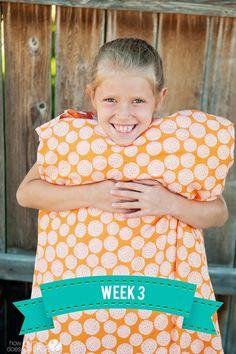 Summer Sew School   #howdoesshe #sew #sewingideasforkids #easysewprojects #kidssewing howdoesshe.com