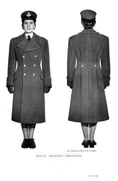 Here is a pattern for a woman wardens greatcoat from a wartime Tailor & Cutter edition. girl!captain Jack?