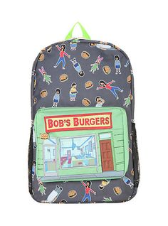 Bob's Burgers Store Front BackpackBob's Burgers Store Front Backpack,