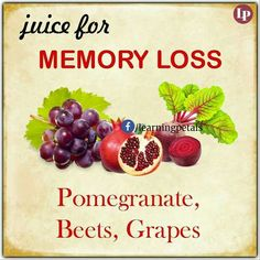 Want to improve your memory and sharpen your mind? The Memory Repair Protocol can help. Discover the natural secret to optimum brain health. Healthy Juices, Healthy Fruits, Healthy Smoothies, Healthy Drinks, Healthy Tips, Healthy Vegetables, Veggies, Juicing For Health, Health And Nutrition