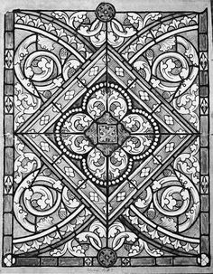 Image result for grisaille pattern stained glass