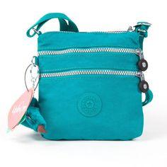 Kipling Alvar Messenger Bag Green