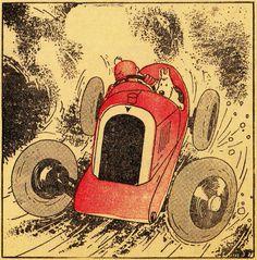 "Hergé - Tintin  Cover Le Petit ""Vingtième"" Jan. 4th 1934"
