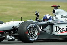 Prince of Monaco - David Coulthard in the 2003 McLaren Mercedes - probably the nicest driver never to win the world championship Prince Of Monaco, David Coulthard, Mclaren Mercedes, First Car, Indy Cars, Car And Driver, F 1, World Championship, Formula One