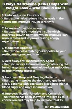 6 Ways Naltrexone Helps with Weight Loss pinterest graphic