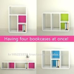 transformal bookcase, Knock-down furniture, shopfittings, plastic bookshelf, View knockdown furniture , Product Details from COZYTEC CO.,LTD. on Alibaba.com