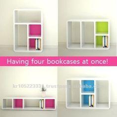 transformal bookcase, Knock-down furniture, shopfittings, plastic bookshelf, View knockdown furniture , Product Details from COZYTEC CO.,LTD. on Alibaba.com