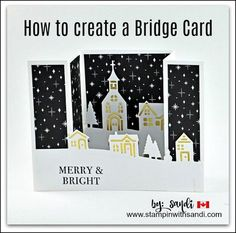 Today's video walks you step by step through how to create a bridge card with the Stampin Up Hearts Come Home Bundle available September 1st in the Stampin Up Holiday Catalogue Click here to view the video