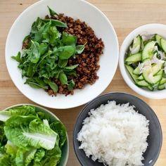 A Quick, Thai-Inspired Main Dish (Larb recipe???)