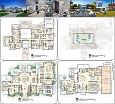 Summer House: Kean Development's Newest Estate At Olde Towne 6 Olde Towne Lane, Southampton Luxury Floor Plans, Luxury House Plans, New House Plans, Dream House Plans, House Floor Plans, Luxury Houses, Dream Houses, Luxury Homes Interior, Luxury Decor