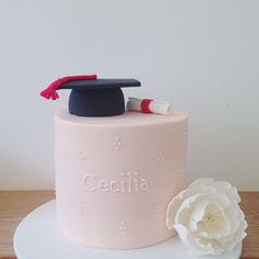 a super pretty graduation cake! we have had a few this ceremony season! Cupcake Cookies, Cupcakes, Hello Naomi, Specialty Cakes, Fabulous Foods, Cake Art, Seasons, Instagram Posts, Pretty