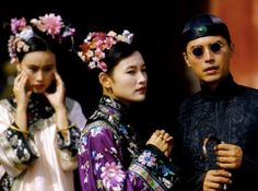 Joan Chen and John Lone in The Last Emperor dir. Last Emperor Of China, Dynasty Tv Series, John Lone, Joan Chen, China Movie, The Art Of Storytelling, Period Movies, Chinese Actress