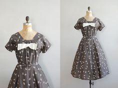 adorbs vintage dress from Dear Golden