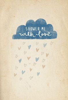 i ♥ the rain . The Lovely Drawer .