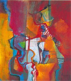 Composição em Laranja - Roberto Burle Marx, 1985 - Catálogo das Artes