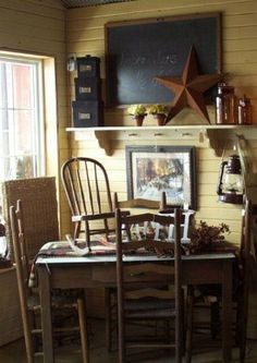 Primitive Decor - Amish Decor - Christian Decor