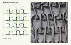 How to do grid smocking