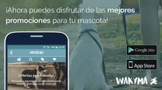 ¿Te gustan las ofertas? 😏 ¡Descarga Wakyma y disfruta con tu mascota! 🐶👉 https://wakyma.app.link/DPSeW3tRkF
