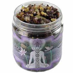 2.4oz jar Sahasrara resin incense