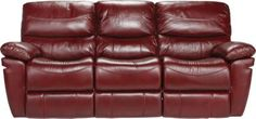 Slipcovers For Sofas La Verona Red Leather Power Sofa x x Find affordable Leather Sofas for your home that will plement the rest of your furniture