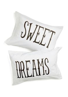 Sweet dreams pillow cases ♡