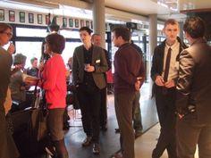 Everyone enjoying themselves at Networking @ Nottingham Playhouse