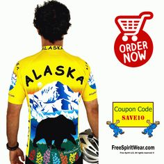 """""""Free Spirit Bike Jersey Gives You 100% Protection From UV Rays.""""...No matter the weather, UV ray can harm anyone, specially during cycling when you don't have shades to protect you from the sun. But our Free Spirit Bike Jersey gives you 100% protection from UV rays. Visit FreeSpiritWear.com to get your own jersey now.     http://freespiritwear.com/blog/?p=1784"""