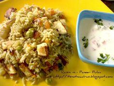 Raisin n Paneer Pulav ~ Sizzling Tastebuds