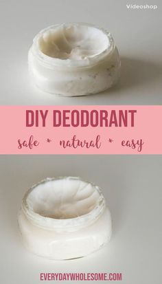 This is my DIY Homemade Natural Deodorant Recipe Post where I show you how to make your own DIY homemade deodorant. Diy Deodorant, Homemade Natural Deodorant, Lip Scrub Homemade, Homemade Skin Care, Homemade Beauty Products, Natural Products, Home Made Deodorant Recipes, Natural Oils, Coconut Oil Deodorant