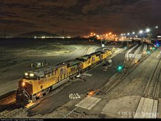 RailPictures.Net Photo: UP 8257 Union Pacific GE ES44AC at Colton, California by EL ROCO Photography
