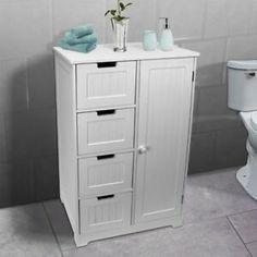 White Cabinets & Cupboards for sale | eBay Bathroom Sink Vanity Units, Wooden Bathroom Cabinets, Bedroom Cupboards, Cupboard Shelves, Storage Cabinets, Storage Drawers, Locker Storage, Kids Storage, Nursery Storage