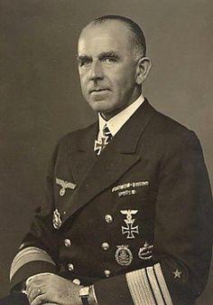 ✠ Otto Ciliax (30 October 1891 – 12 December 1964) RK 21.03.1942 Vizeadmiral Befh. d. Schlachtschiffe