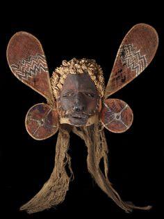 Malangan mask, circa 1900, New Ireland, maker unknown. Gift of Alexander Turnbull, 1913.