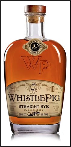 Review of WhistlePig Rye Whiskey: WhistlePig 100-100 Straight Rye Whiskey
