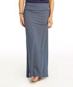 Anchor Chevron Mahalo Maxi Skirt by Carve Designs #zulily #zulilyfinds
