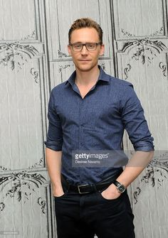 Actor Tom Hiddleston attends AOL BUILD Presents 'Crimson Peak' at AOL Studios In New York on October 16, 2015 in New York City. (Photo by Desiree Navarro/WireImage)