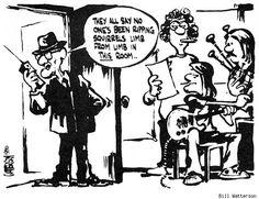 Bill Watterson's College Comics