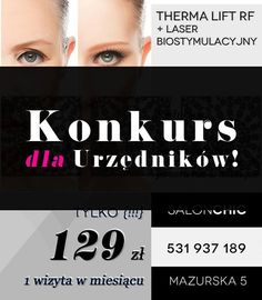 http://salonchic.pl/ Salon CHIC Mazurska 5  Tel. 531 937 189
