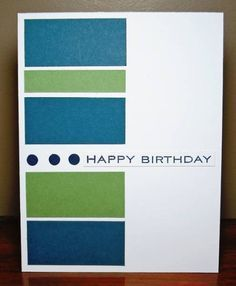 Good masculine card.... (change sentiment)