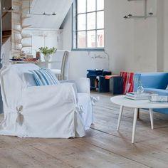 Choisissez un joli jeté de canapé Piece A Vivre, Decoration, Chair, Design, Furniture, Salons, Home Decor, Baby, Old Sofa