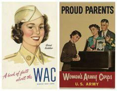 Vintage Posters WACs 1940s