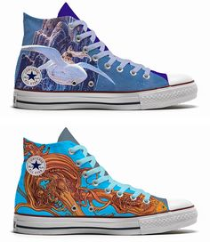 "Converse ""Moebius Edition"""