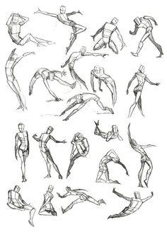 Body Frame Doodles